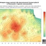 Mapa wartości nieruchomości komercyjnych na Śląsku