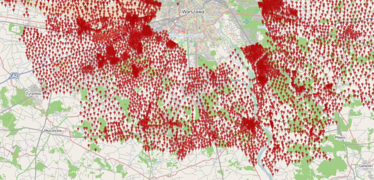 Prace nad stworzeniem mapy wartości nieruchomości