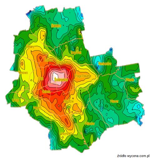 20150109 mapa cenowa warszawa