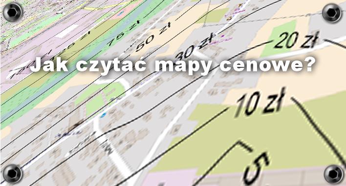 Jak czytać mapy izarytmiczne średnich cen gruntów niezabudowanych?