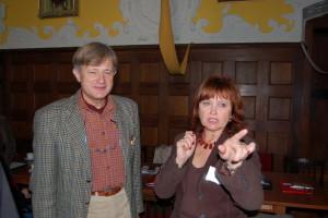 Od lewej: Alojzy Kiziniewicz, Maryla Jaworska