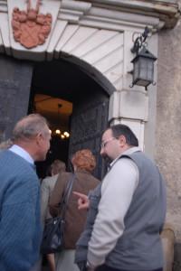 Od lewej: Edward Berwid, Tomasz Kotrasiński