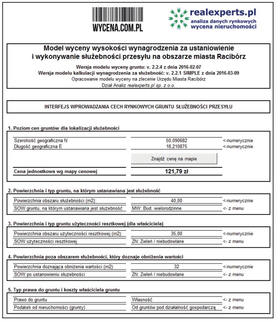 A. INTERFEJS SYSTEMU Servitut 1.0