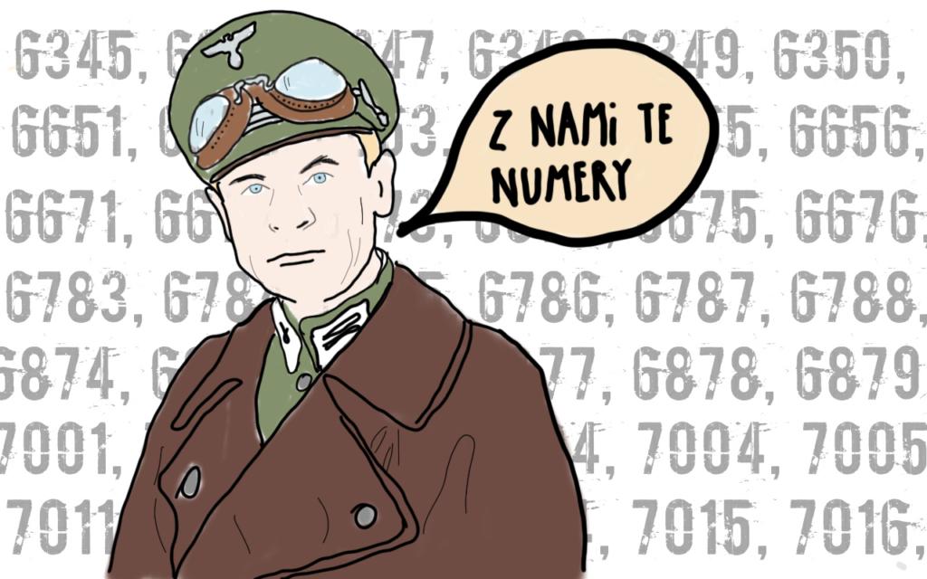 Hans Kloss - Z nami te numery